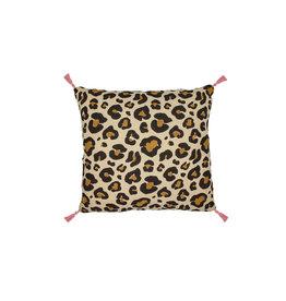 Doing Goods Doing Goods Leopard Pillow S Incl.binnenkussen