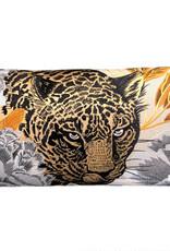 DigaC.Cushion Leopard 60x35cm Katoen Inc.Binnenkussen