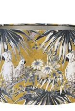 Light&Liv.Lampenkap Parrot Velours 25x25 cm