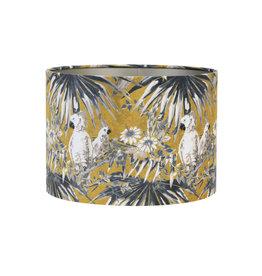 Light&Liv. Lampenkap Parrot Velours 50x50 cm