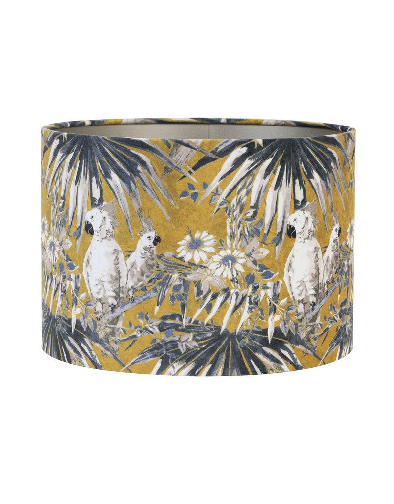 Light&Liv.Lampenkap Parrot Velours 50x50 cm