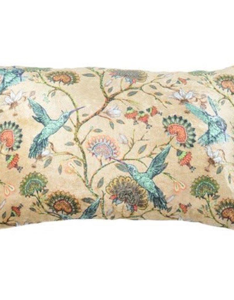 GoRound Velvet Cushion Picasso Brique Incl.Binnenkussen