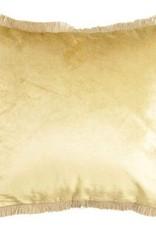 GoRound Cushion Velvet Gold 45x45cm incl.Binnenkussen