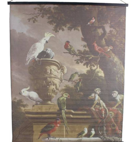 Wall Plaque Mix Birds Monkeys 170x2x140cm