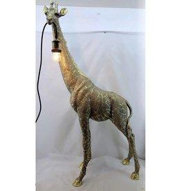 Giraffe Lamp Goud, 59 cm x 23,5 cm x 103 cm