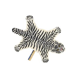 Doing Goods Snowy Tiger Rug Small 92 x 63 x 2 cm