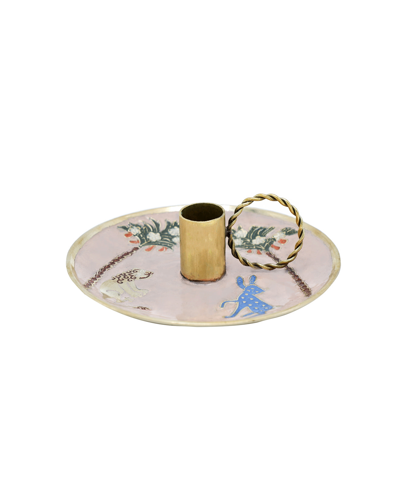 Doing Goods Doing Goods Dainty Lion Bunny Candle Holder  15,5 x 15,5 x 5 cm