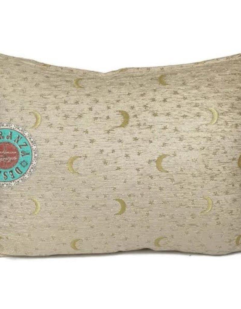 Boho Esparanza Boho Kussen Stars&Moons Creme 50x70cm,incl.binnenkussen