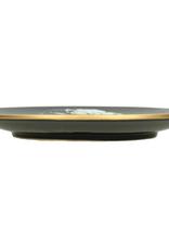 Plate David Black 4x30x30cm