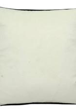 Cushion Building White Velvet 45x45cm Incl.binnenkussen