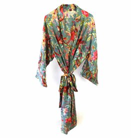 Imbarro Home & Fashion Imbarro Kimono Royal Paradise Green Onesize