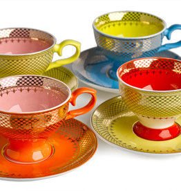 Pols Potten Pols Potten Espresso Set Grandma Set 4 In Giftbox