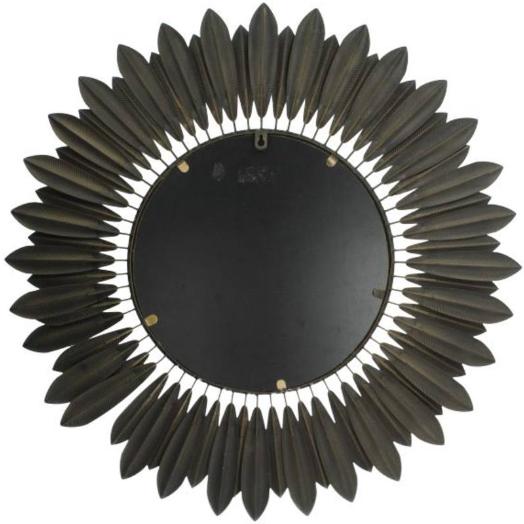 Mirror Gold Metal 70x4x70cm