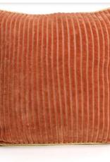 Imbarro Home & Fashion Imbarro kussen Corduroy Camel 45x45cm incl binnenkussen