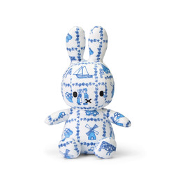 "Miffy Sitting Delft Blauw - 23 cm - 9"""