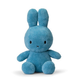 Miffy Sitting Terry Ocean Blue - 33 cm - 13""