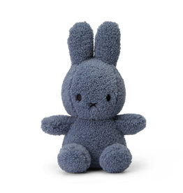 "Miffy Teddy Blue - 23 cm - 9"" - 100% recycled"
