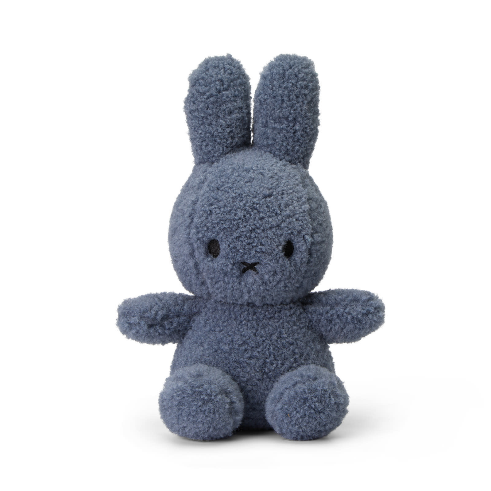 "Miffy Teddy Blue - 23 cm - 9"" - 100% recycled"