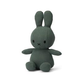 "Miffy Sitting Mousseline Green - 23 cm - 9"""
