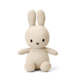 "Miffy Miffy Sitting Mousseline Cream - 23 cm - 9"""