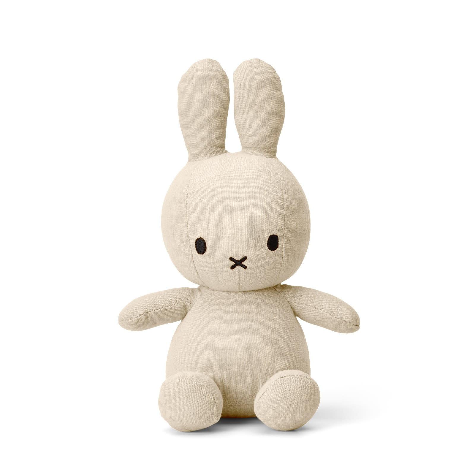 "Miffy Sitting Mousseline Cream - 23 cm - 9"""