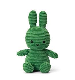 "Miffy Miffy Sitting Corduroy Spring Green - 23 cm - 9"""