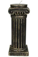 Candle Column Wax Gold 20x8x8cm