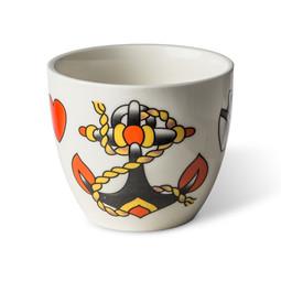 Pols Potten Pols Potten Cups Tattoo set van 4