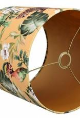 Toplicht Lampenkap Cilinder Staand Brasil Velvet 35x35x30cm Oker on Gold