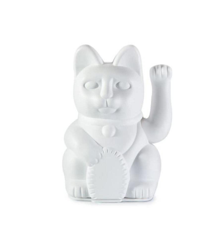 Donkey products Donkey Iconic Cat ,without battery,plastic White 8x7x12cm