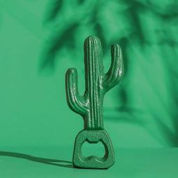 Donkey products Donkey Tropical Garden Carabbian Cactus Bottle Opener Iron