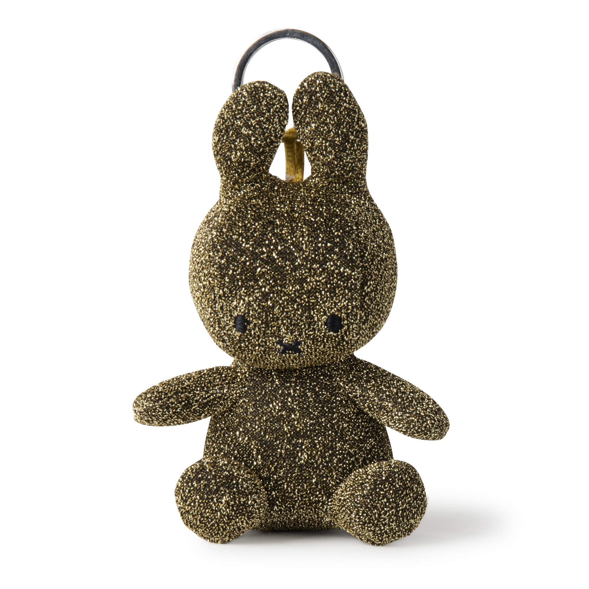 Miffy Keychain Sparkle Gold -10cm Limited Edition