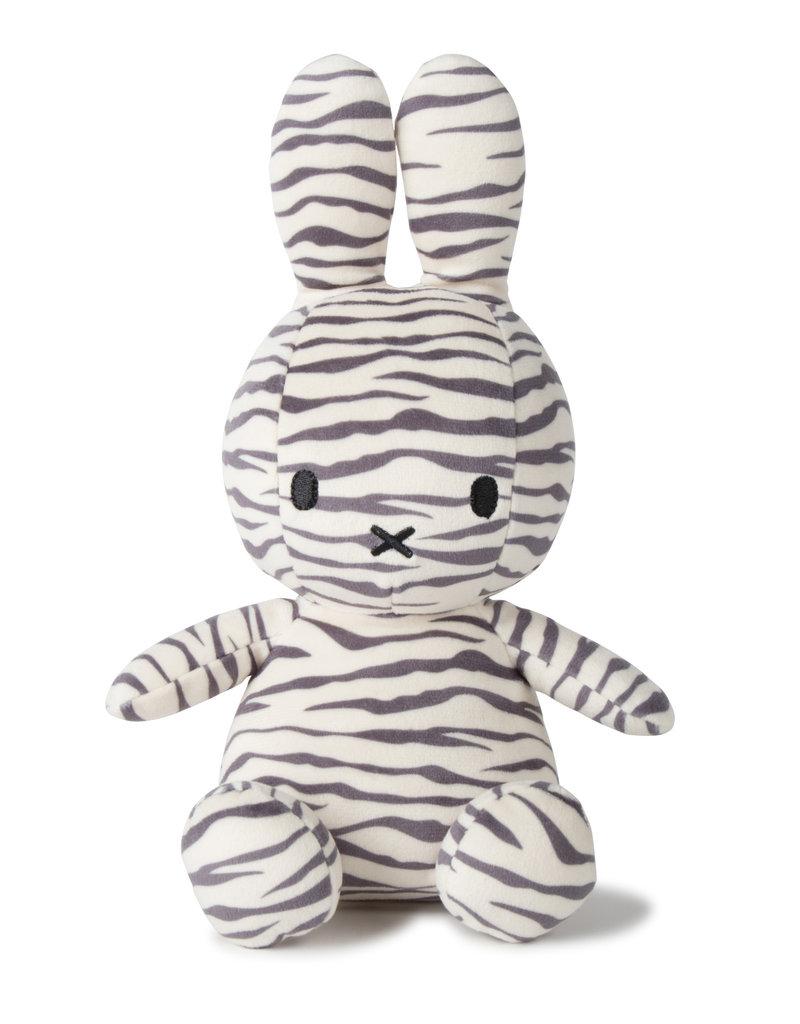 Miffy Sitting all-over Zebra print 23cm