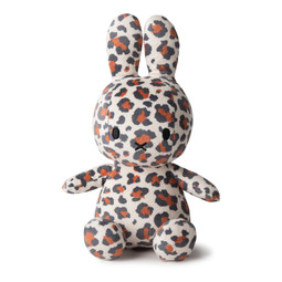 Miffy Sitting all-over Leopard print 23cm