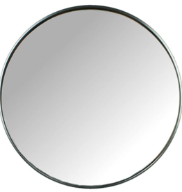 Mirror Metal Black 80x2x80cm xet3784