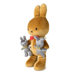 Miffy Evolution gold – 34 cm Limited Edition