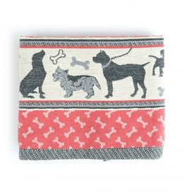 Bunzlau Castle Bunzlau  Castle Tea Towel Dog Red