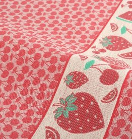 Bunzlau Castle Bunzlau  Castle Kitchen Towel Fruit Red