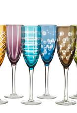Pols Potten Pols potten Champagneglas Cuttings Multicolour, Set 6