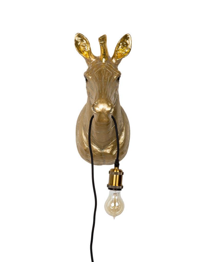 Kitchen Trend Zebra Lamp Goud  20 x 38 x 46 cm