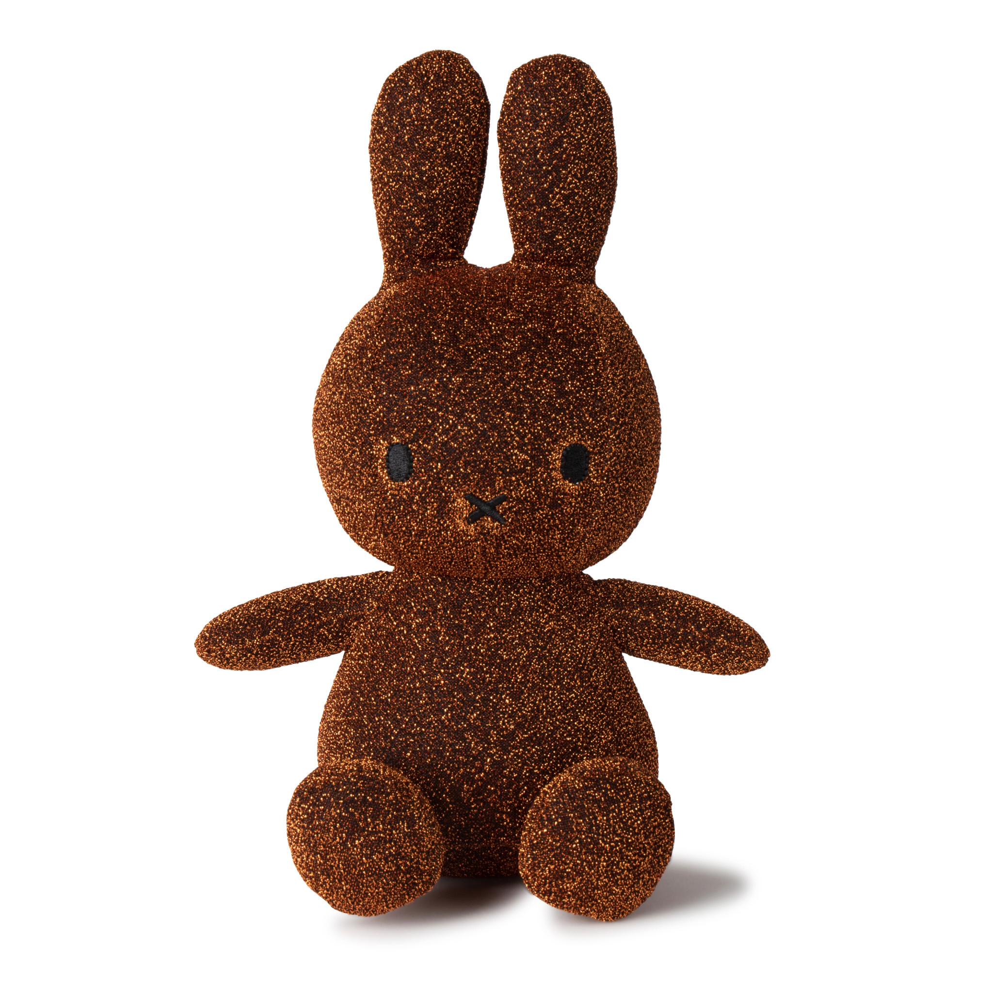 "Nijntje/Miffy Miffy Sitting Sparkle Copper- 23 cm - 9"" Limited Edition"
