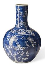 Pols Potten Pols Potten Vase Blossom Blue S  Ø23 x H36 cm