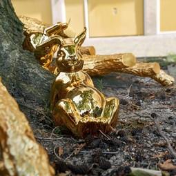 Pols Potten Pols potten Moneybox Bunny belley gold