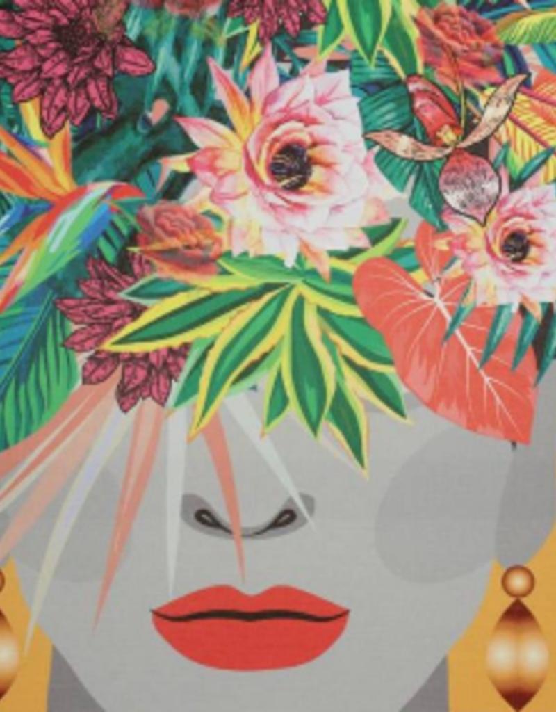 Poster Lady Multi Orange 70x3x50cm