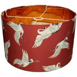 Lampenkap met Kraanvogels Terra  28x45x45cm