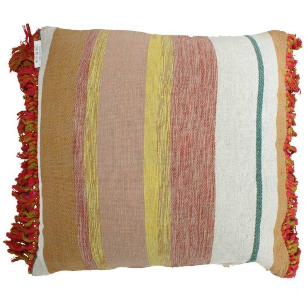 Cushion Cotton Mix Colors 60x60cm Incl binnenkussen