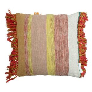 Cushion Cotton Mix Colors 45x45cm Incl binnenkussen