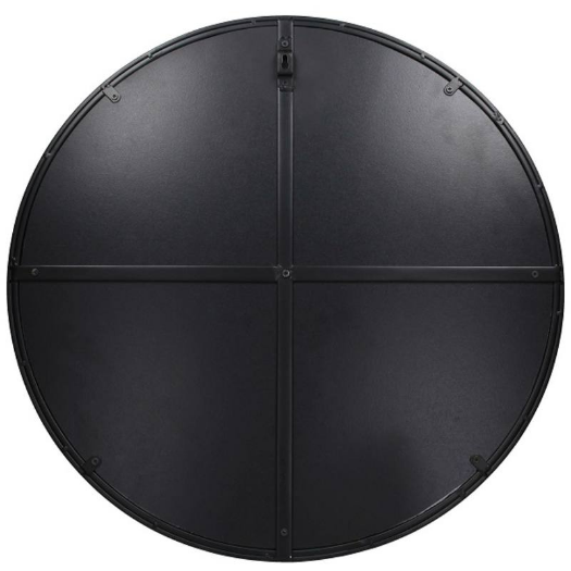 Mirror Black 57x2x57cm