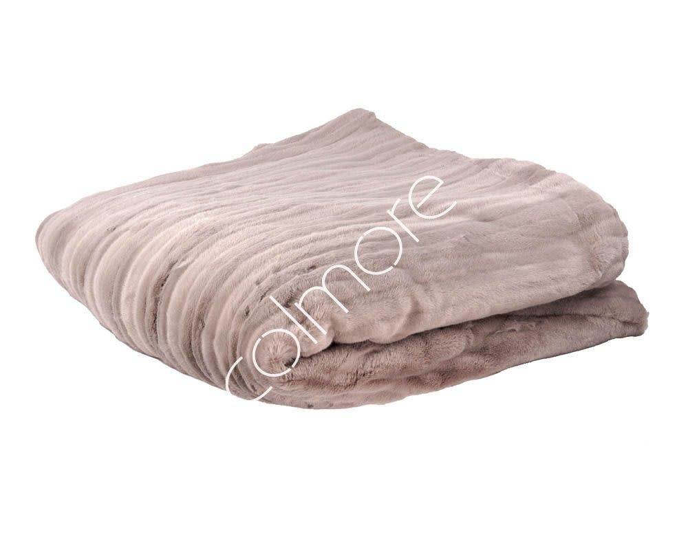 DigaC. Plaid Mauve Fake Fur 130x170cm