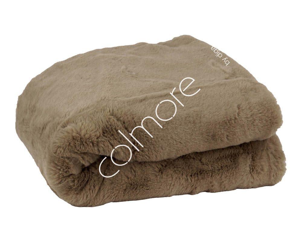 DigaC. Plaid Latte Fake Fur 130x170cm